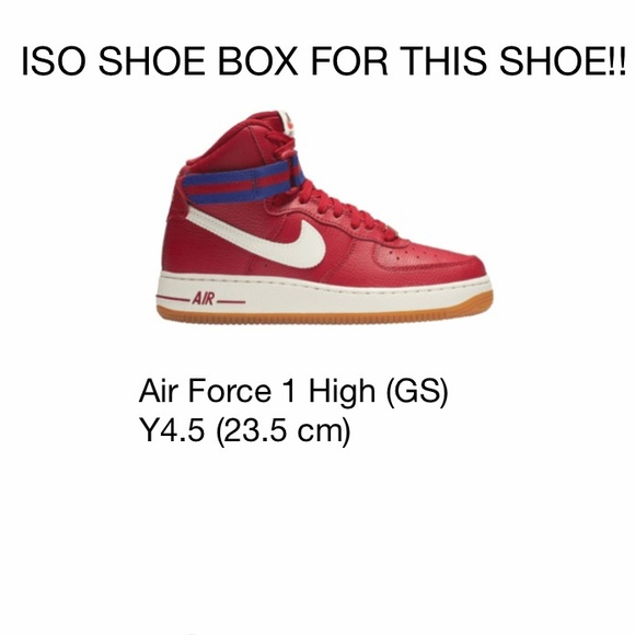 Iso Air Force 1 High Gs Y45 235 Cm